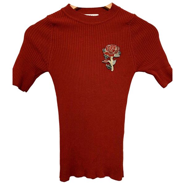 Pre-owned Sandro Red Knitwear