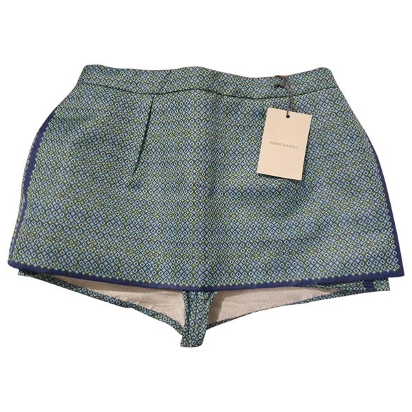 Pre-owned Pierre Balmain Multicolour Skirt