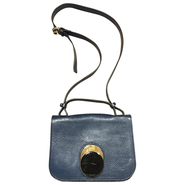 Pre-owned Marni Blue Leather Handbag