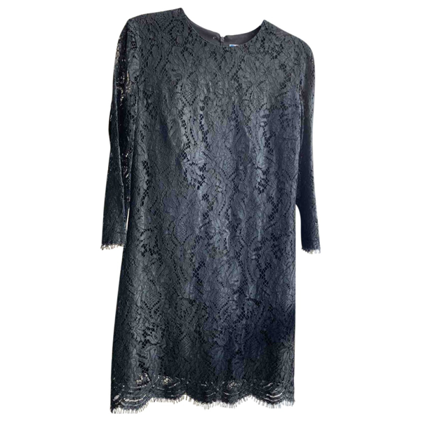 Pre-owned Msgm Black Lace Dress