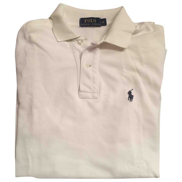 Pre-owned Polo Ralph Lauren White Cotton Polo Shirts