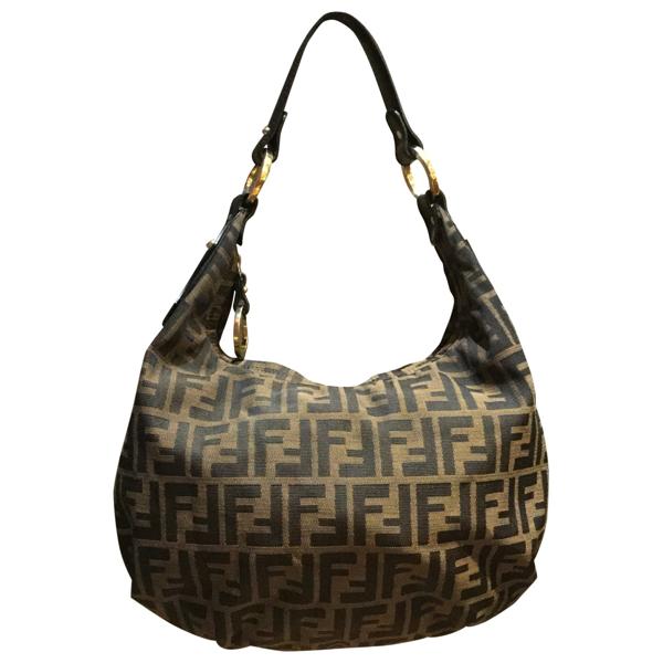Pre-owned Fendi Cloth Handbag