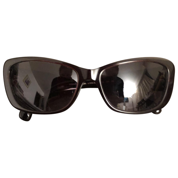 Pre-owned Chanel Purple Metal Sunglasses