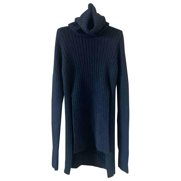 Pre-owned Balmain Black Wool Knitwear