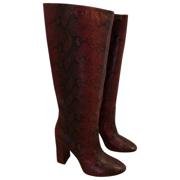 Pre-owned Twinset Leather Boots