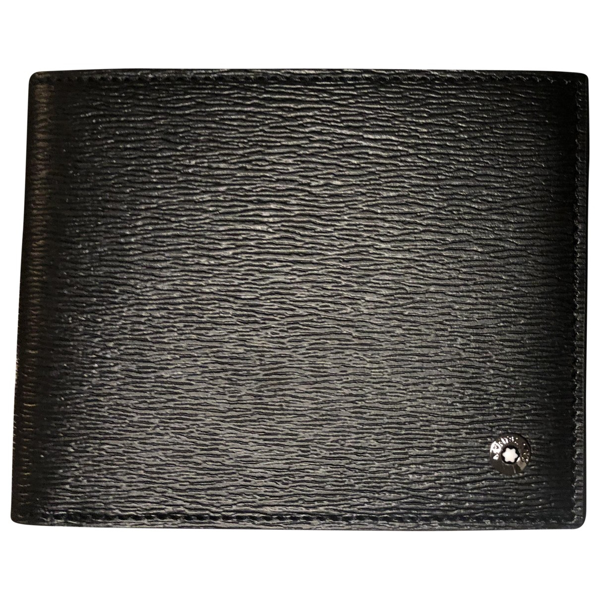 Pre-owned Montblanc Black Leather Small Bag, Wallet & Cases