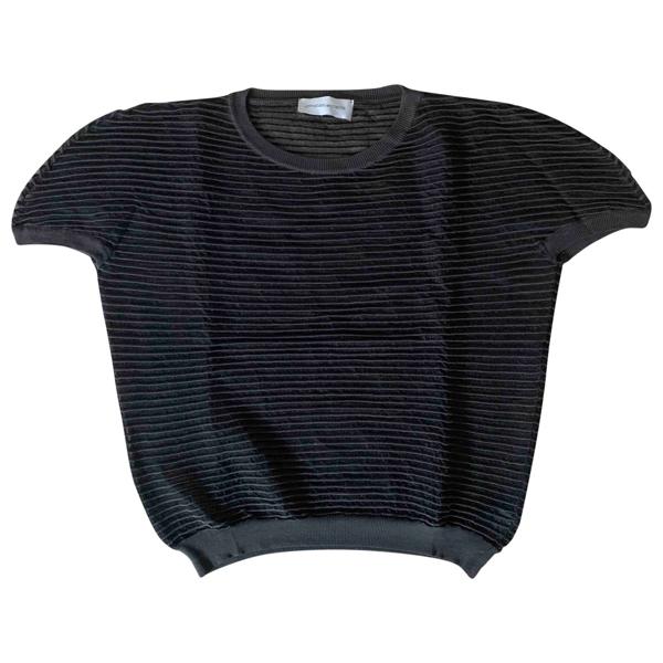 Christian Wijnants Black Silk Knitwear