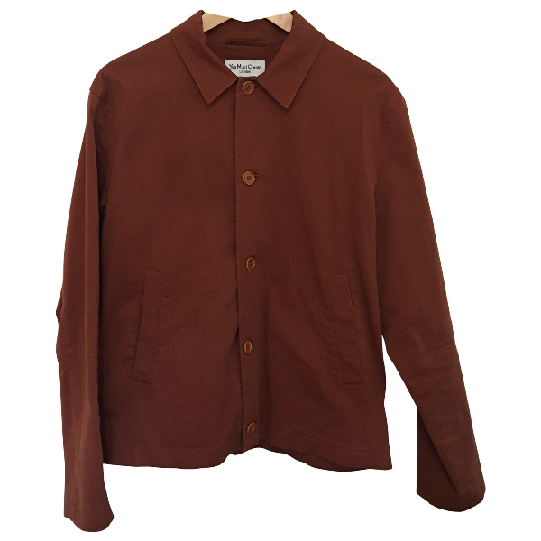 Ymc You Must Create Brown Cotton Jacket