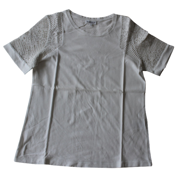 Claudie Pierlot White Cotton  Top