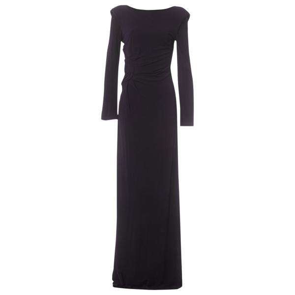 Monique Lhuillier Purple Dress