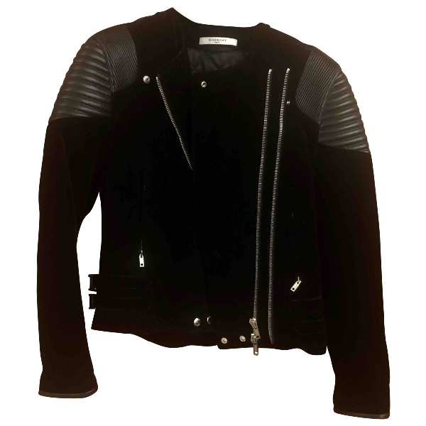 Givenchy Black Velvet Jacket