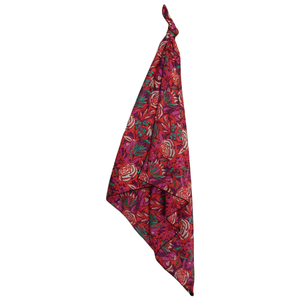 Roseanna Red Scarf