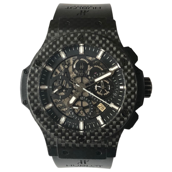 Hublot Big Bang  Black Steel Watch