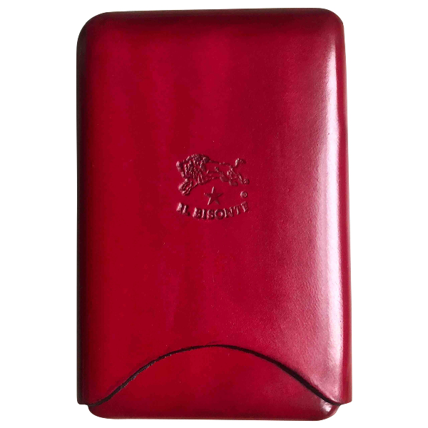 Il Bisonte Red Leather Purses, Wallet & Cases