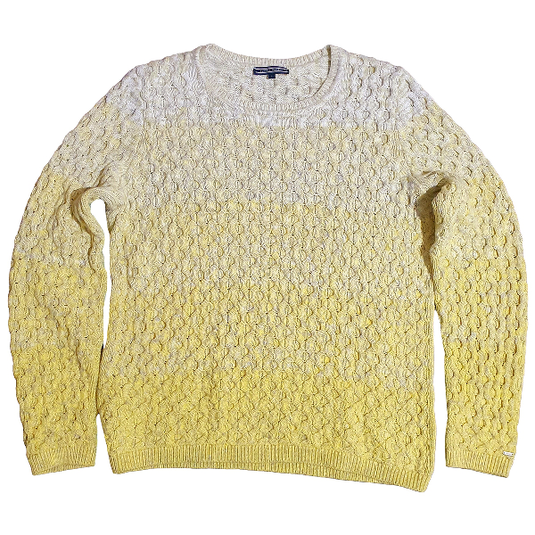 Tommy Hilfiger Yellow Cotton Knitwear