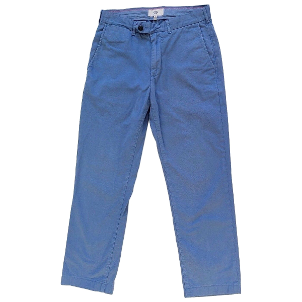 Jack Spade Blue Cotton Trousers