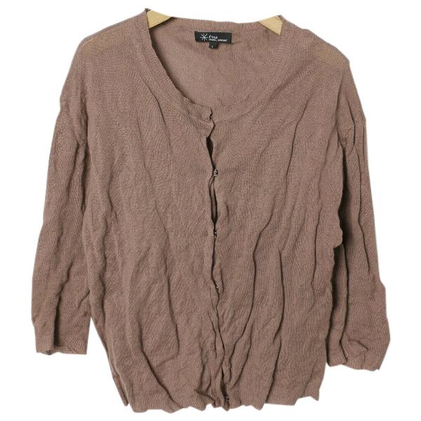 Etoile Isabel Marant Brown Cotton Knitwear