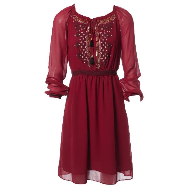 Altuzarra Burgundy Dress