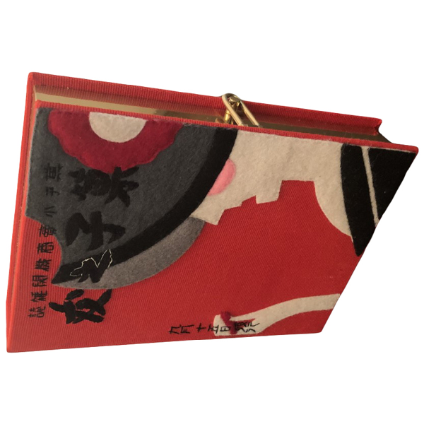 Olympia Le-tan Red Metal Clutch Bag