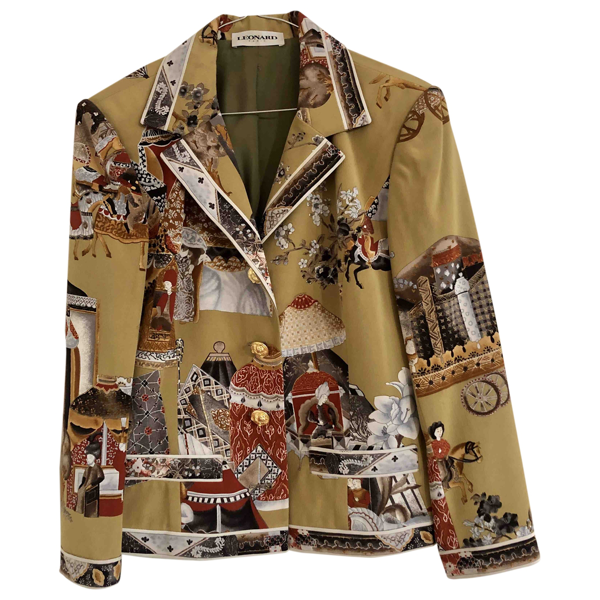 Leonard Multicolour Silk Jacket