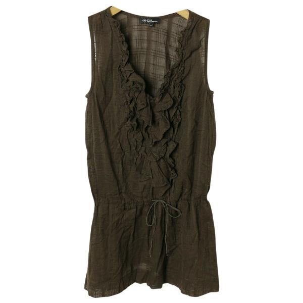 Etoile Isabel Marant Brown Cotton  Top
