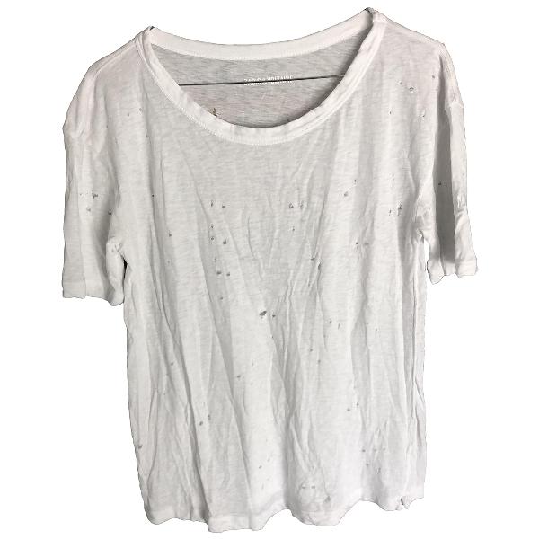 Zadig & Voltaire White Cotton  Top
