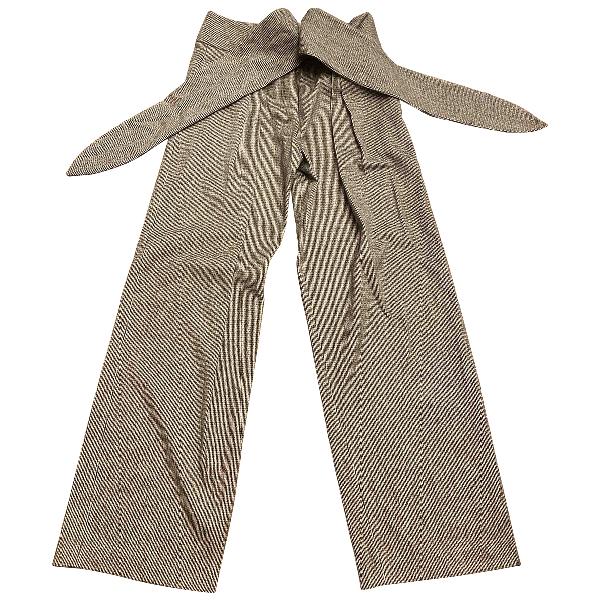 Christian Wijnants Black Wool Trousers