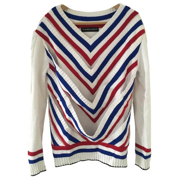 Y/project White Wool Knitwear
