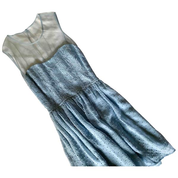 Rodarte Blue Dress