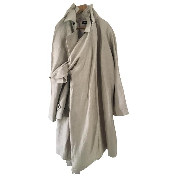 Y/project Beige Linen Coat