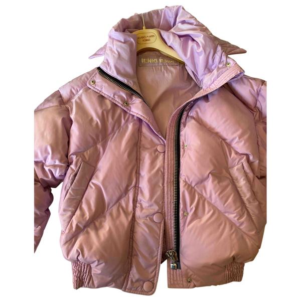 Pre-owned Ienki Ienki Pink Coat