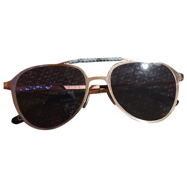 Hublot Pink Metal Sunglasses