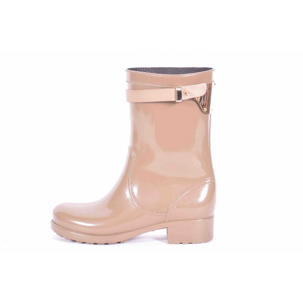 Luis Onofre Beige Rubber Boots