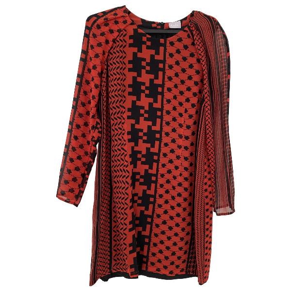 Lala Berlin Red Silk Dress