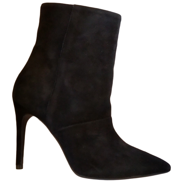 Fiorifrancesi Black Suede Ankle Boots