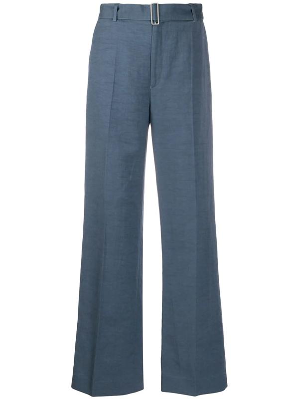Filippa K Hedwig Wide-leg Trousers In Blue