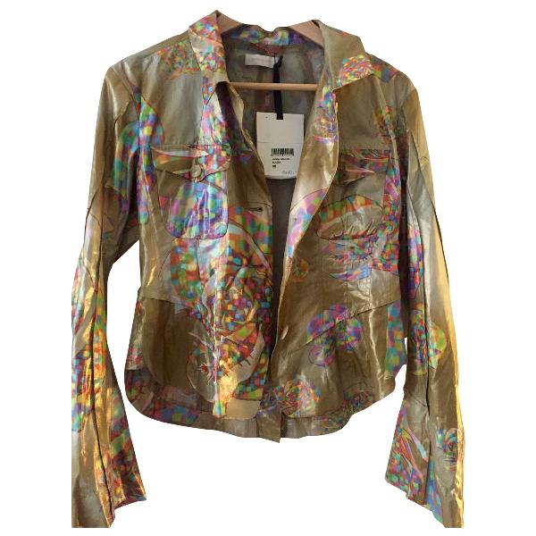 Wunderkind Metallic Silk Jacket