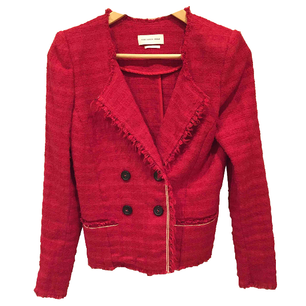Isabel Marant Étoile Red Cotton Jacket