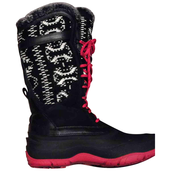 The North Face Black Rubber Boots