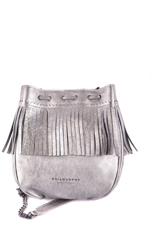 Philosophy Bag  In Silver