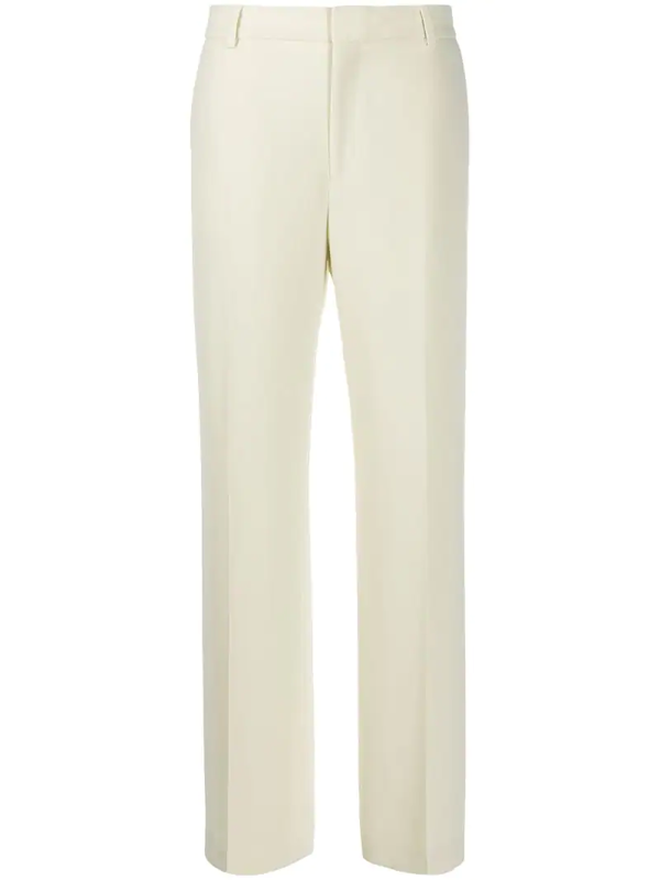 Filippa K Hutton Tailored Trousers In Yellow