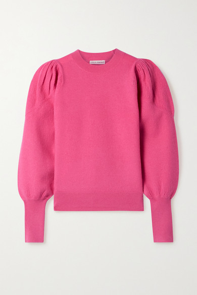 Ulla Johnson Katerina Merino Wool Sweater In Bubblegum