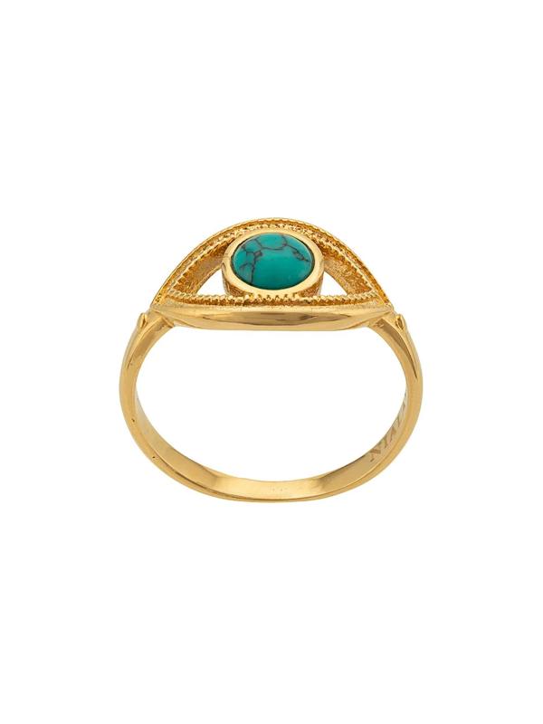 Nialaya Jewelry Eye Ring In Gold