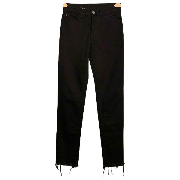 Alyx Black Cotton - Elasthane Jeans