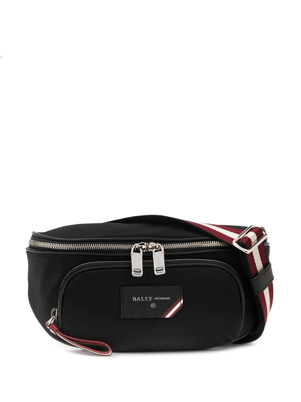 Bally Finlei Belt Bag In Black