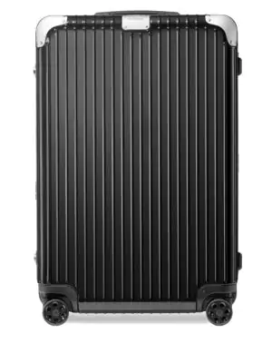 Rimowa Hybrid Cabin S Carry-on Suitcase In Black - Polycarbonate - 21,7x15,8x7,9