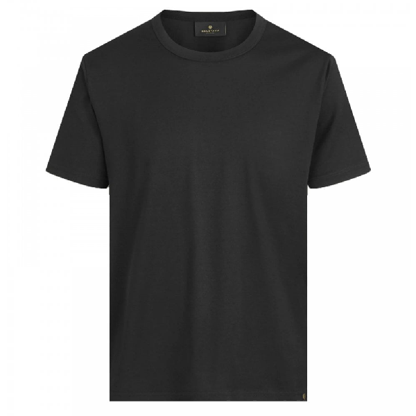 Belstaff One-pocket Crew Neck T-shirt In Black