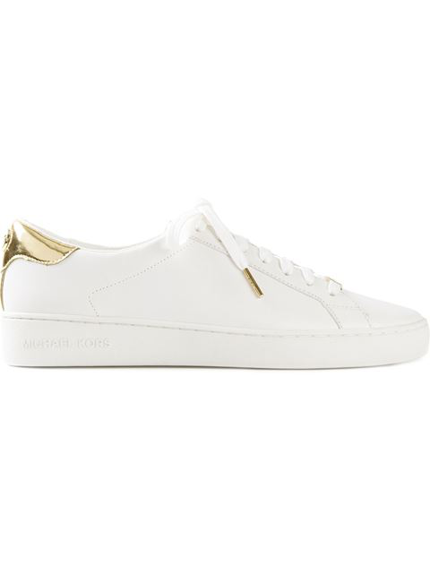 76eefe0535b4 Michael Michael Kors Irving Leather Lace-Up Sneaker