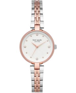 Kate Spade Women's Annadale Two-tone Stainless Steel Bracelet Watch 30mm In Two Tone