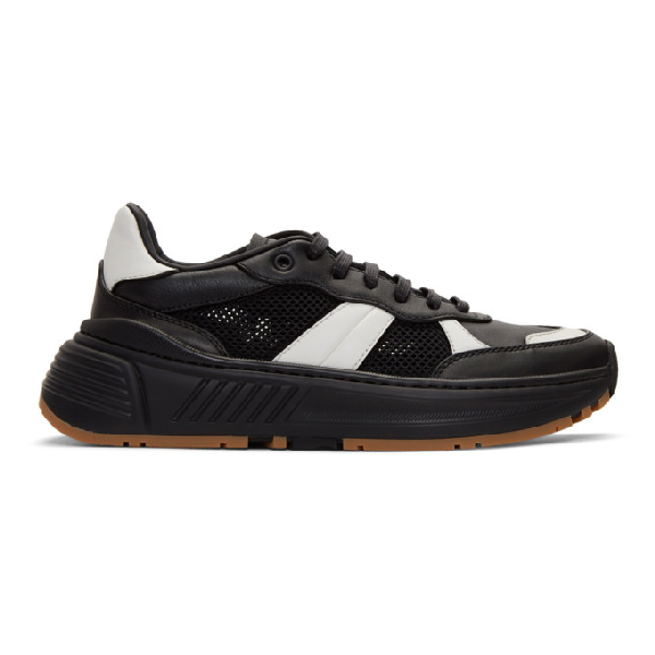 Bottega Veneta Speedster Bicolour Sneakers In 1076 Black
